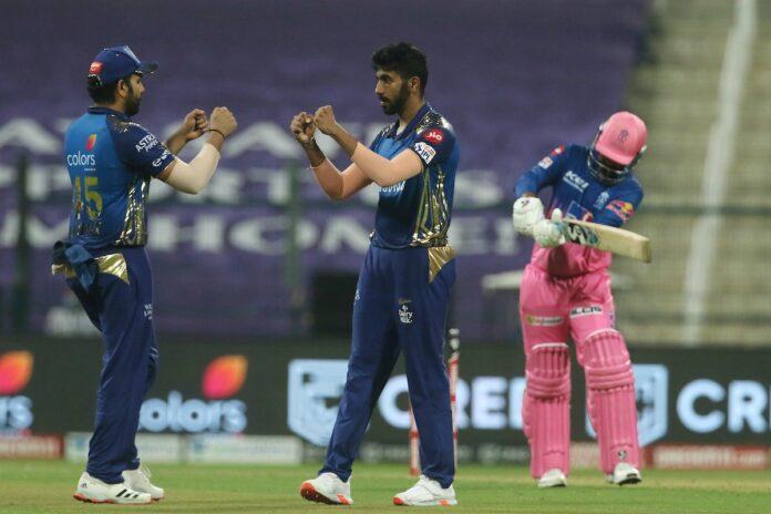 Mumbai Indians defeated Rajasthan Royals by 57 runs