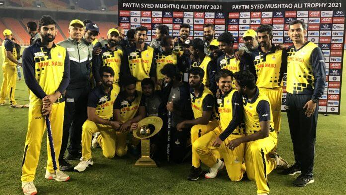 Syed mushtaq ali trophy final 2021: Tamil Nadu thrashed Baroda
