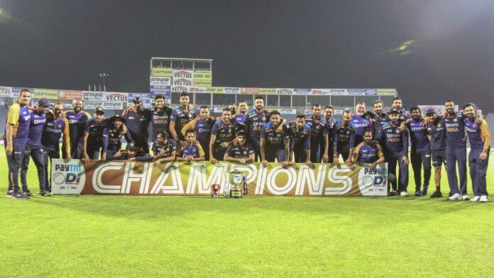 India win by 7 runs, seal ODI series vs England 2-1
