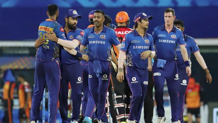 Mumbai Indians win their second match, beat SRH by 13 runs